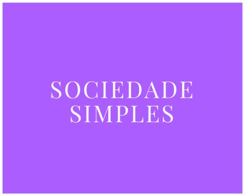 Sociedade Simples - Tipos de Sociedade