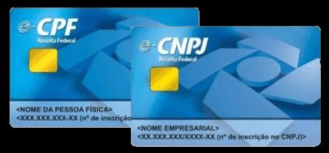 e-CPF / e-CNPJ
