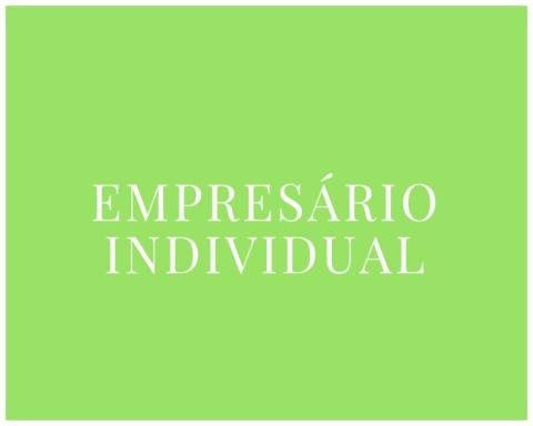 Empresário Individual - Tipos de Sociedade