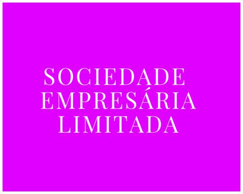 Sociedade Limitada – Tipos de Sociedade