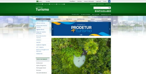 Website Turismo.gov.br